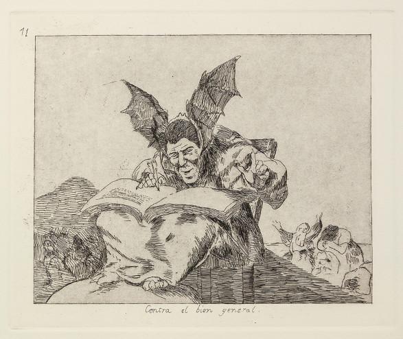 Contra el bien general, 1983-2001  from Homage to Goya II: Disasters of War