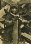 Margaret Bourke-White, [Boy with a hammer, Magnitogorsk, Soviet Union], 1931 Courtesy of Special Collections Research Center, Syracuse University Libraries Photo © Estate of Margaret Bourke-White/Licensed by VAGA, New York, NY