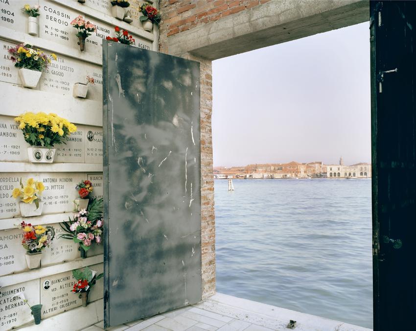Rising Sea Level XV: Venice, Italy, 2006  Courtesy of the artist