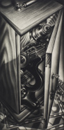 Grandpa's Microscope, 1983. © Carol Wax