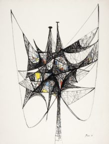 Gallery Tour: Taking Flight: Richard Koppe's Work on Paper @ SUArt Galleries | Syracuse | New York | United States