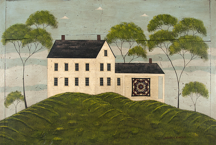 A House with Quilt
